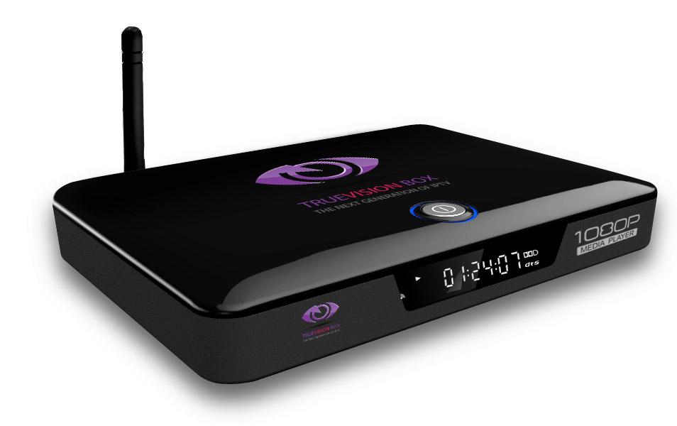 TrueVision IPTV Box with 12 months IPTV